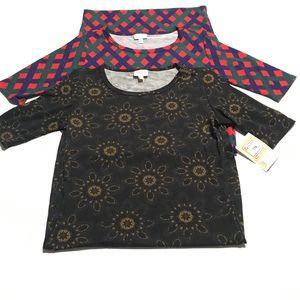 LULAROE Printed Julia Dress Lot Size Xsmall